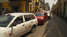 HD2009-11-16-13 traffic Lima Stock Video Footage