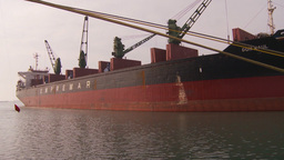 HD2009-11-16-37 cargo ship Stock Video Footage