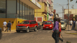 HD2009-11-18-24 Arica streetlife traffic Stock Video Footage
