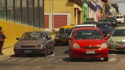 HD2009-11-18-24 Arica streetlife traffic Stock Video Footage