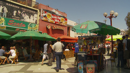 HD2009-11-18-26 Arica pedestrian mall Stock Video Footage