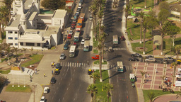 HD2009-11-18-38 Arica cityscape aerial Stock Video Footage