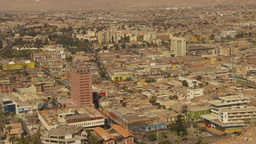 HD2009-11-18-42 Arica aerial city Footage