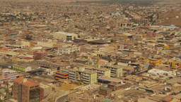 HD2009-11-18-48 Arica aerial city Z in Stock Video Footage