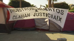 HD2009-11-18-56 Arica justice protest Footage