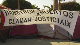 HD2009-11-18-56 Arica justice protest Stock Video Footage