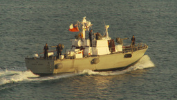 HD2009-11-19-6 Chilean navy patrolboat Footage