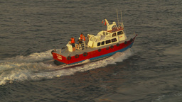HD2009-11-19-8 pilot boat Stock Video Footage