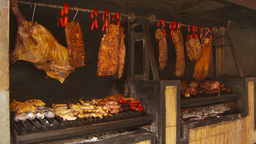HD2009-11-24-6 big BBQ Z Stock Video Footage