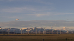 HD2009-10-6-15 wind turbines WS Stock Video Footage