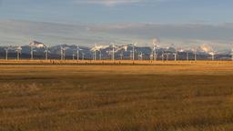 HD2009-10-6-21 wind turbines tilt Stock Video Footage