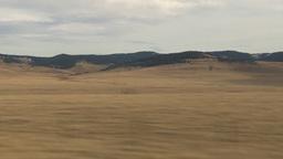 HD2009-10-7-4 drive along prairie Footage