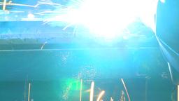 HD2009-9-8-2 welding Stock Video Footage