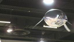 HD2009-8-13-1 flying alum penguin Stock Video Footage