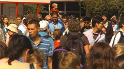 HD2009-8-15-4 festival crowd Stock Video Footage