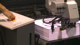 HD2009-8-16-4 paper press Footage