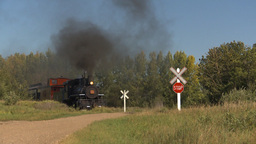 HD2009-9-31-21 steam train Stock Video Footage