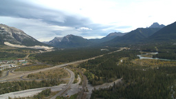 HD2009-9-33-3b aerial Bow valley Footage