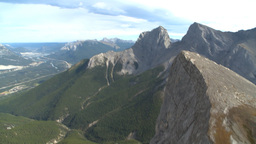 HD2009-9-33-5 aerial mountains Footage