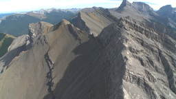 HD2009-9-33-7 aerial mountains Stock Video Footage