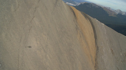 HD2009-9-33-11 aerial mountains Stock Video Footage