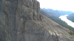 HD2009-9-33-13 aerial mountains Stock Video Footage