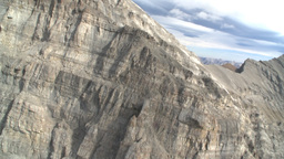 HD2009-9-33-15 aerial mountains Stock Video Footage