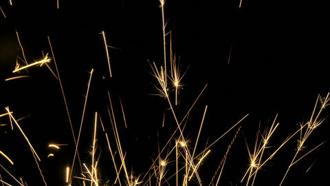 Delicate Sparks 01 stock footage