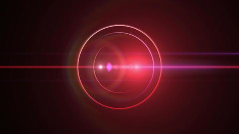 Opening intro Flash light flare B 1 red 4k Animation