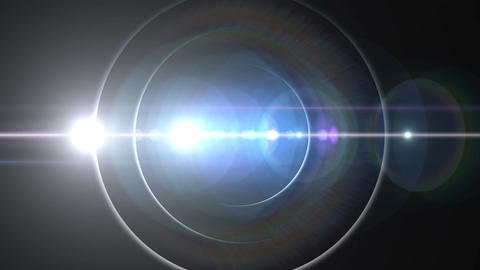 Opening intro Flash light flare B 2 white Short 4k CG動画