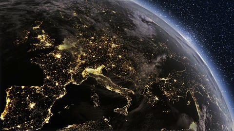 Earth Europe P Jpeg 5 stock footage