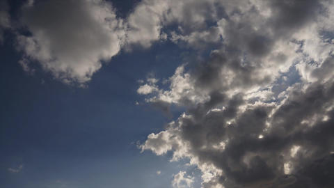 Clouds Cover The Sun stock footage