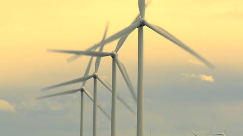 Wind Farm 04 Footage