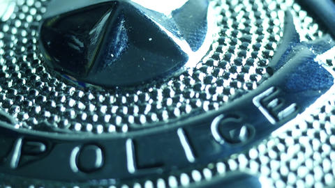4K UHD Stock Footage Police Accessories Footage