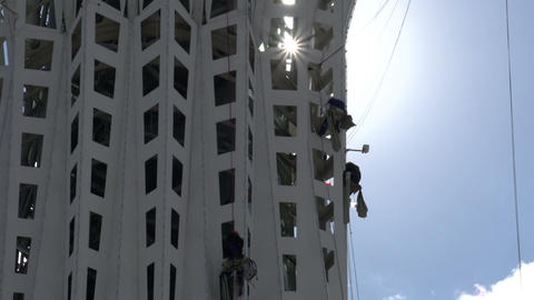 Industrial Climbers Footage