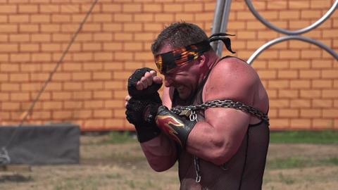 Circus Strongman Footage