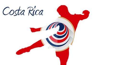 Costa rica world cup 2014 animation with player Animation