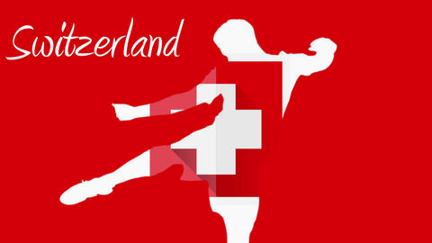 Switzerland world cup 2014 animation with player Animation