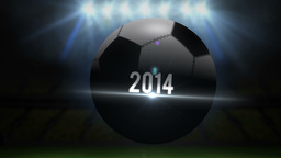 Costa rica world cup 2014 animation with football Animation