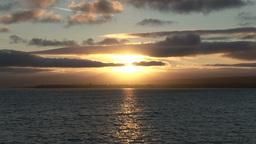 Sunset Near Lahinch in Ireland Footage