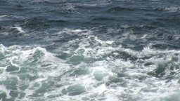 Waves Break Against the Irish Coastline 3 Footage