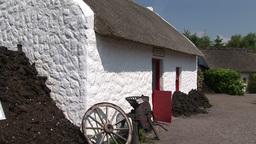 An Old Irish Cottage Footage