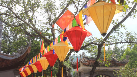 lantern in traditional festival, Asia Footage