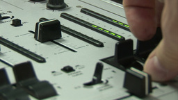 Music Mixing Desk Footage