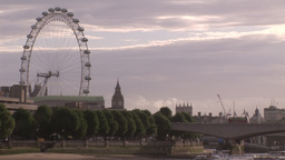 London City and Thames River 3 Footage