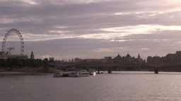 London City and Thames River 4 Footage
