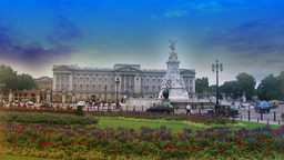 Buckingham Palace 2 Footage