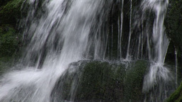 Flowing Waterfall Footage