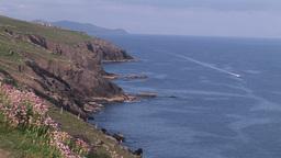 Coast of Dingle Peninsula Footage
