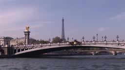 Eiffel Tower in Paris Footage